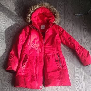 Beautiful red parka by Point zero🌹🍀🍀
